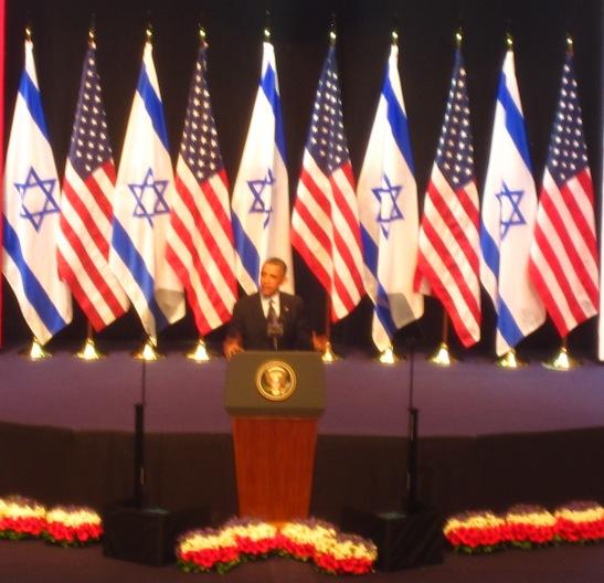 President Barack Obama in Israel