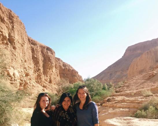 hiking Ein Gedi