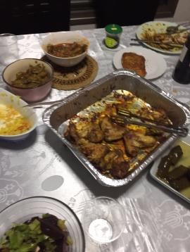 shabbat meal